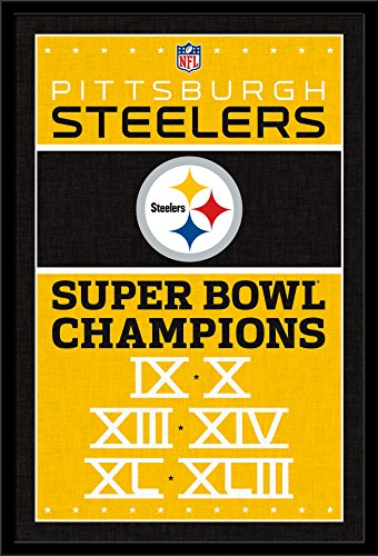 Trends International Wall Poster Pittsburgh Steelers Champions, 22.375 x 34