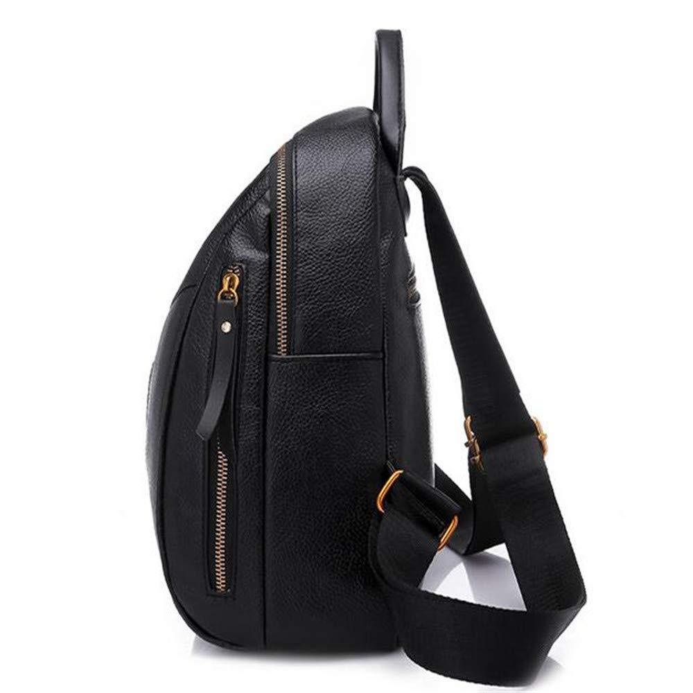 LIZHONG-SLT Fashionable Shoulder Bag, Women's Tide, Little Bag, Soft Leather PU Leisure Bag,Black,(Width 24cm Thickness 18cm high 30cm) by LIZHONG-SLT (Image #3)