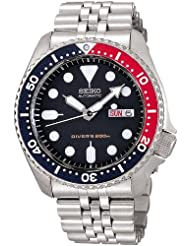Seiko import Black SKX009KD men's SEIKO watches reimportation overseas model by Seiko Watches