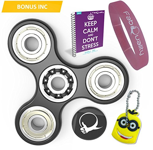 Price comparison product image The Official Anti-Anxiety 360 Spin with EBOOK + Minion Key Chain- Perfect For ADD, ADHD Relieves Stress, Autism, Anxiety And Relax for Children and Adults EBOOK is sent by email