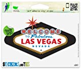 "Las Vegas Nevada Vinyl Car Bumper Window Sticker 3"" x 2"""