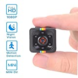 Mini Hidden Camera,1080P/720P Pocket Security Camera Sports DV with Night Vision Motion Detection Nanny Cam Home surveillance