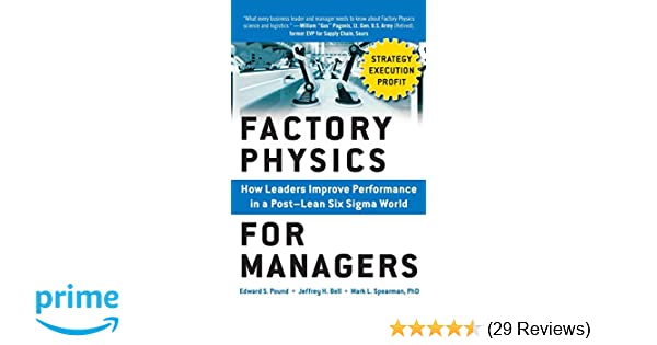 Factory Physics For Managers Pdf