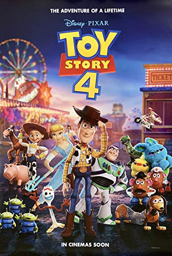 2 Double Sided Poster - TOY STORY 4 MOVIE POSTER 2 Sided ORIGINAL Advance Version C 27x40 TOM HANKS DISNEY