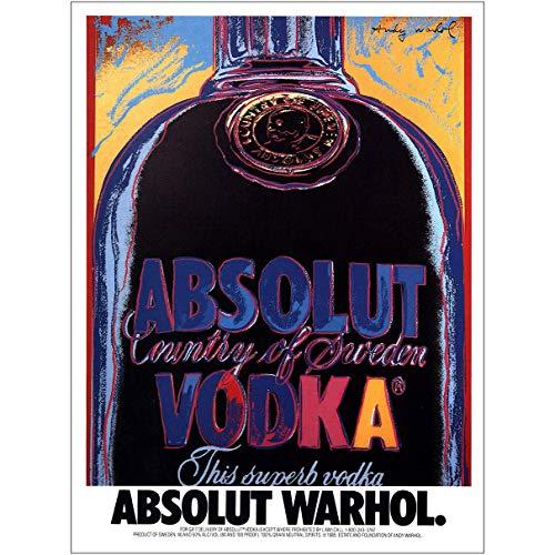 lut Vodka: Warhol, Britto, Haring, Absolut Vodka Print Ad ()