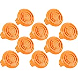 Set of 10 Trimmer Spool Cap Covers for Cordless Trimmers