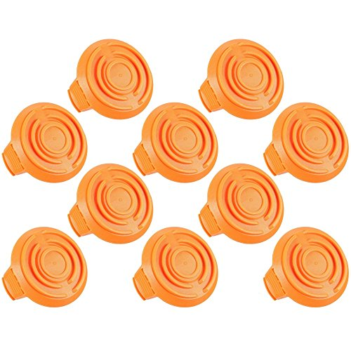 Set of 10 Trimmer Spool Cap Covers for Cordless Trimmers by StevensLake