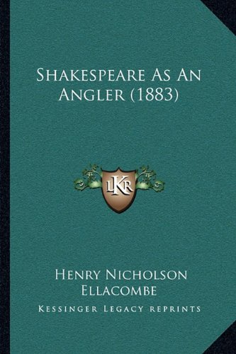 Download Shakespeare As An Angler (1883) pdf