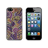 Liili Premium Apple iPhone 5 iphone 5S Aluminum Backplate Bumper Snap Case ID: 28369665 Abstract decorative vector tribal ethnic background pattern