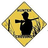 Hunter Crossing 12'' X 12'' Aluminum Sign