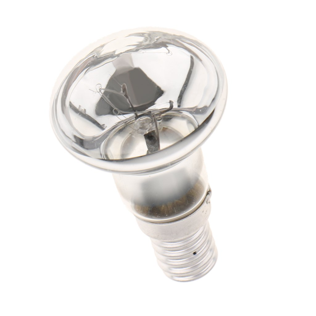 Baoblaze E14 Reflector Type Spotlight Spot Light Bulb Lava Lamp Replacement Small Screw SES
