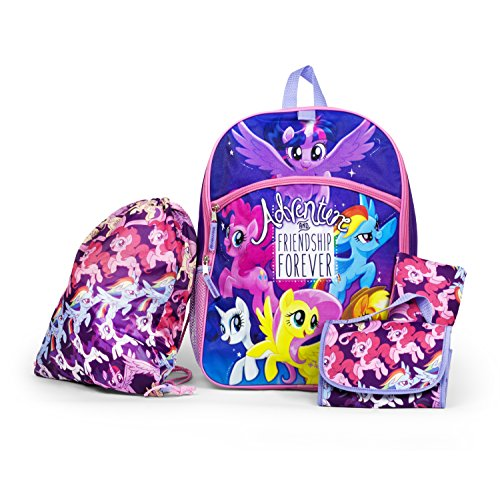 My Little Pony Backpack School Set
