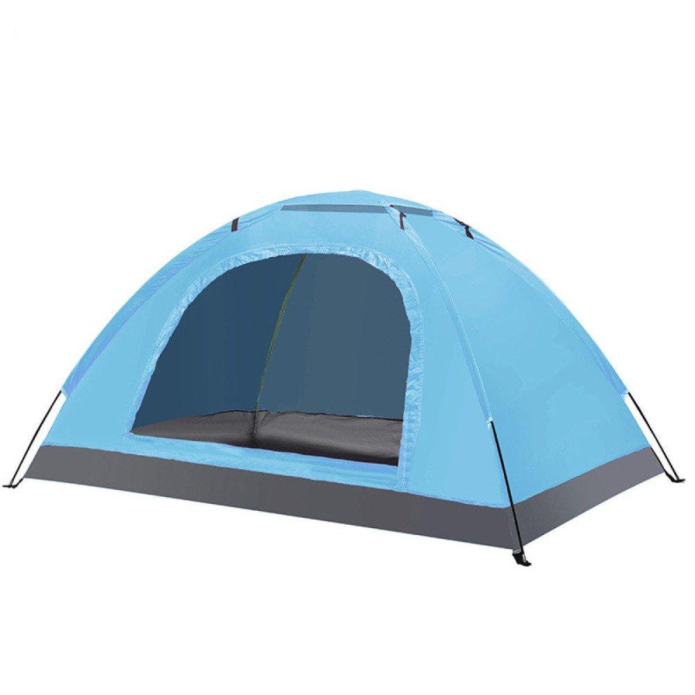 Hlxx Zelt Im Freien Camping Wilder Camping Familienstrand,SkyBlau