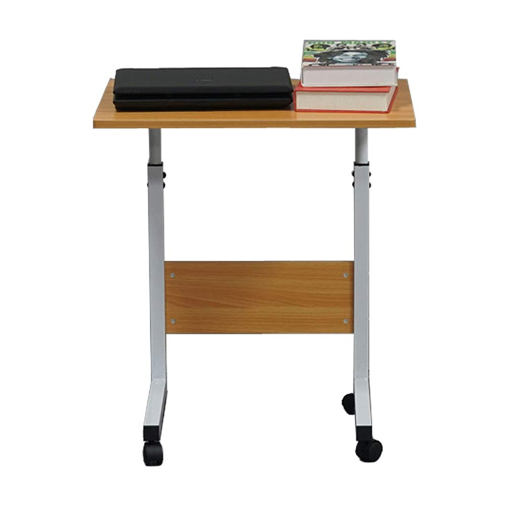 Removable E1 15MM Chipboard & Steel Side Table with Baffle Wood Color S
