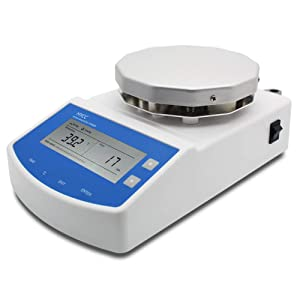 HYCC MS300 Digital Thermostatic Magnetic Stirrer Laboratory Heating Magnetic Stirrer Plate with Timing Function Heating and Stirring Type