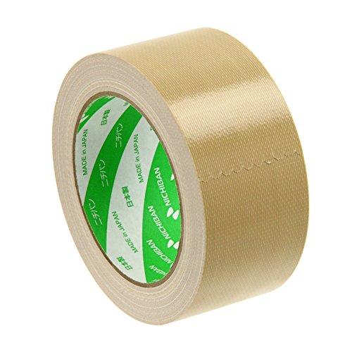 Nichiban cloth tape cloth adhesive tape in lightweight materials, sealing 50mm 25M ocher 121-50 (japan import)