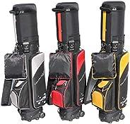 A99 Golf Travel Mate III CarryOn Wheeled Cover W. TSA Lock Air Porter Golf Travel Bag cart Bag Hybrid Travel B