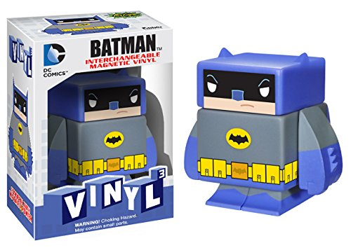 "Batman (Classic TV) ~1.6"": DC Universe x Funko Vinyl Cubed Interchangeable Magnetic Figure"
