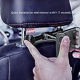 Tryone Car Headrest Tablet Mount Holder Compatible