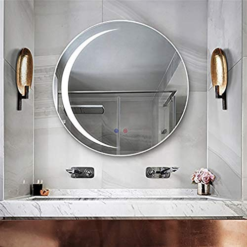 GT.S 600 X 600 mm Illuminated Bathroom Mirror with LED Light and -
