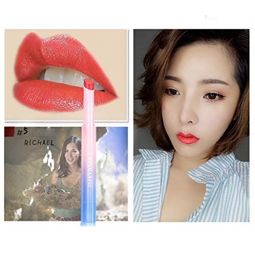 ❤️ Sunbona Clearance Sale Waterproof Lipstick Hydrating Long Lasting Lip Gloss Makeup Beauty (E)