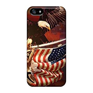 JohnPrimeauMaurice Iphone 5/5s Best Hard Phone Cover Support Personal Customs Colorful Patriotic Series [etq3178ZSGF]