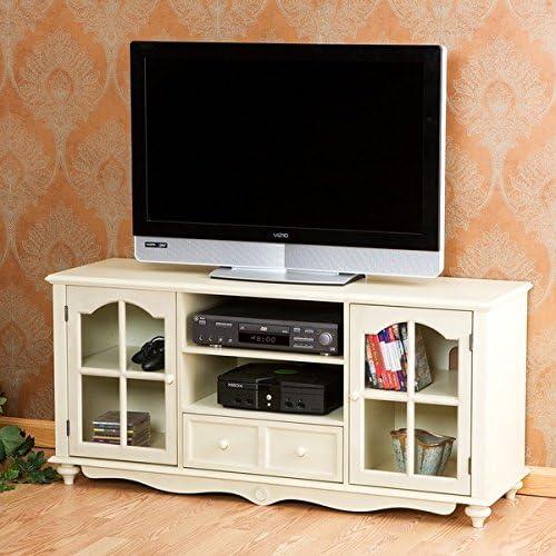 Harper Blvd Medallion Consola de TV de Color Blanco Antiguo: Amazon.es: Juguetes y juegos