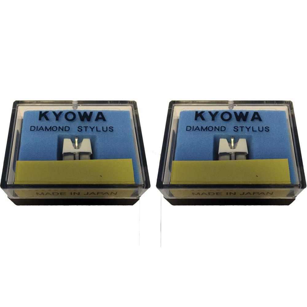 2/x DJ stylet Compatible avec Stanton 500/V2/V3/500/A 500/AL 500E 505sk 520sk D5100al Kyowa