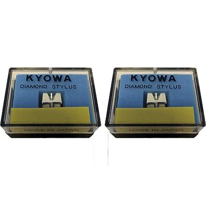 2 x DJ STYLUS para Stanton 500 v2 v3 500A 500AL 500E 505SK 520SK D5100AL KYOWA