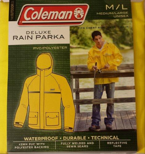 Coleman Deluxe Rain Parka Medium/Large Unisex ()