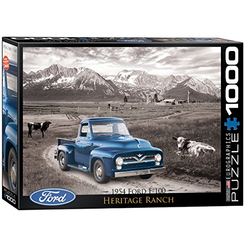 EuroGraphics 1954 Ford F-100 Puzzle (1000-Piece)