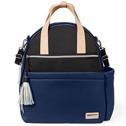 Skip Hop Nolita Neoprene Diaper Backpack, Navy/Black