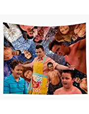 JESC® Gibby Funny Tapestry Wall Art Hanging Gibby Party Tapestry Pink Tapestry for Dormitory Bedroom Home Fashion Wall Decoration Artwork 130x150cm