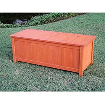 International Caravan TT CB 001 IC Furniture Piece Royal Tahiti Patio  Storage Trunk