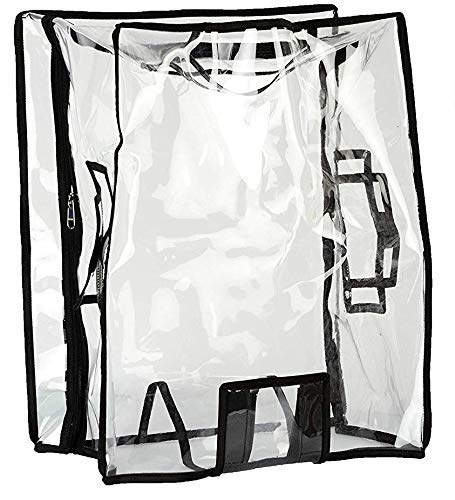 TRAVELUS Transparent Luggage Trolley Protective Covers PVC Waterproof (Hard Body – Size 24)