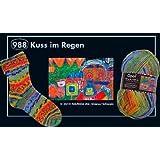 Opal Sockengarn Hundertwasser III - 4 fach 988 Kuss im Regen