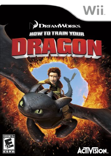 How To Train Your Dragon (Dragon Train Wii)