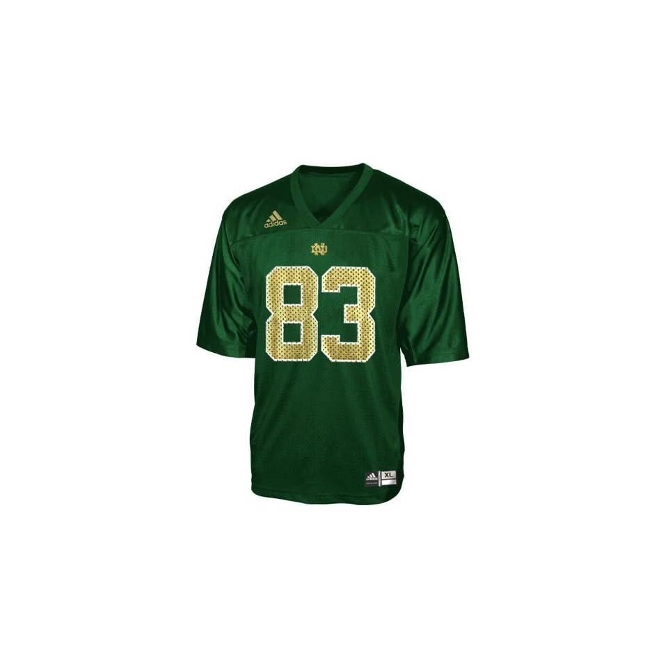 adidas Notre Dame Fighting Irish #83 Green Infant Replica Football Jersey