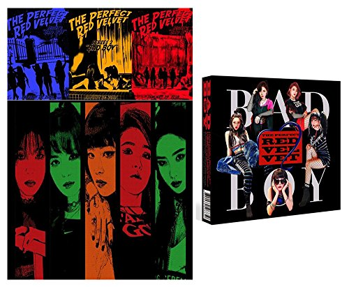 Book Poster Red (RED VELVET The [Perfect Red Velvet] 2nd Repackage Album CD + Photo Book + Photo Card)