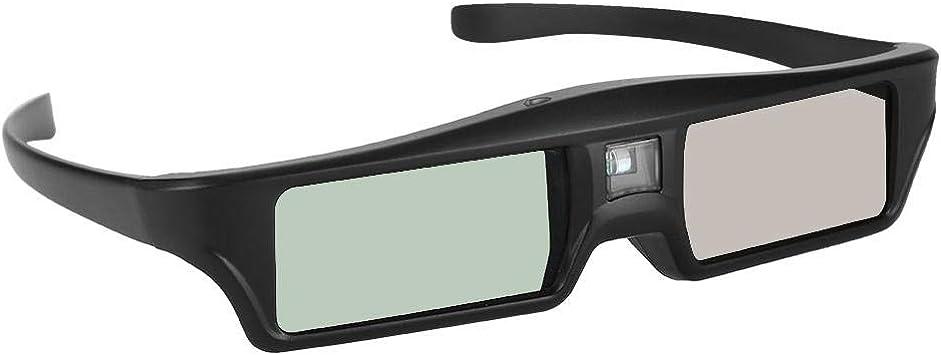 Gafas 3D Rojo Azul - 1080P Full HD Gafas de visión 3D 8M DLP Link Gafas 3D Proyector Gafas de TV para Personas con miopía: Amazon.es: Electrónica