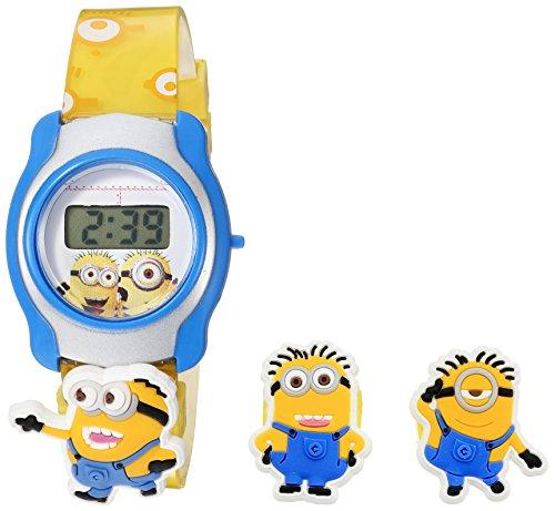Illumination Studios Kids'  Despicable Me Digital Display  Multi-Color Watch DMEKD017 - Disney Interchangeable Watch