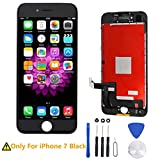 For iPhone 7 Screen Replacement LCD Touch Screen Digitizer Frame Assembly Full Set with 3D Touch for iPhone 7 4.7'' Black