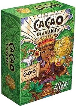 Z-Man Games Cacao Diamante Expansion - English: Amazon.es: Juguetes y juegos