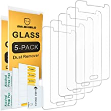 [5-PACK]- Mr Shield For Samsung Galaxy J2 Prime [Tempered Glass] Screen Protector [0.3mm Ultra Thin 9H Hardness 2.5D Round Edge] with Lifetime Replacement Warranty