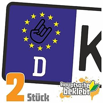 Rocknroll Hand Metal Hand Kennzeichen Aufkleber Sticker