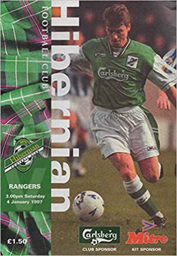 Hibernian v Rangers (Matchday programme) Premier League, issue 13, 4 January 1997