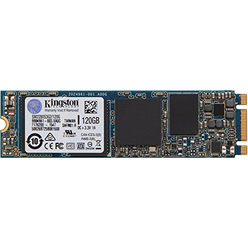 Kingston Digital 120GB SSDNow M.2 SATA 6Gbps (Single Side) - Kingston Glasses