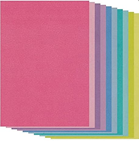 Amazon Groovi Colored Parchment Paper A5 X 20 Sheets For