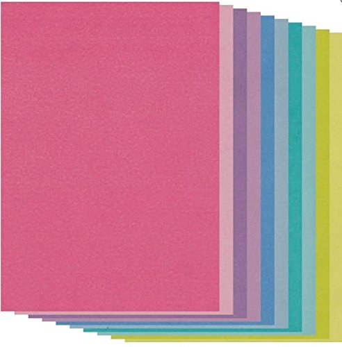 Groovi Colored Parchment Paper A5 x 20 Sheets For Parchment Craft 150gsm (Colored Parchment Paper)