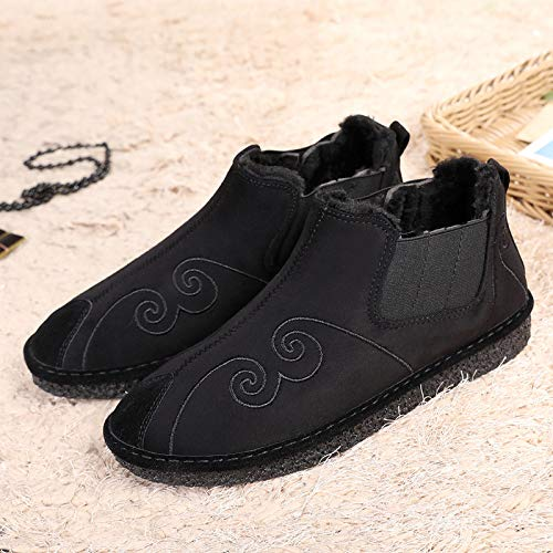 LOVDRAM Stiefel Männer Traditionelle Handwerk Schuhe Schuhe